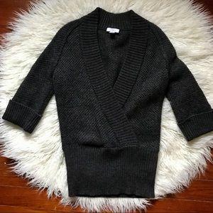 Ann Taylor Loft Gray Sweater
